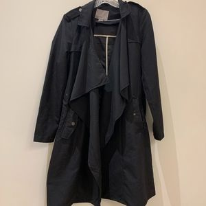 Vero Moda Black Trench